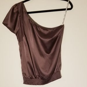 Guess one shoulder blouse